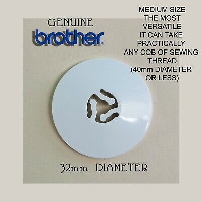 Genuine Brother Spool/Thread/Cotton Cap/Disc/Holder/Stop Sewing Machine
