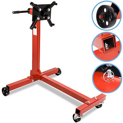 Heavy Duty 450Kg Workshop Swivel Head Engine Gearbox Service Support Lift Stand