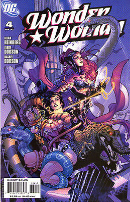 WONDER WOMAN #4 (2007) - Back Issue