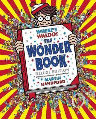 Where's Waldo? the Wonder Book: Deluxe Edition by Martin Handford (English) Hard