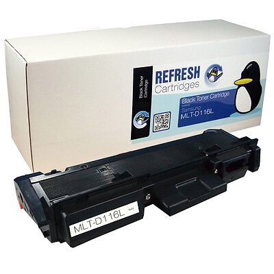 Refresh Cartridges Black Mlt-D116L/els Toner Compatible With Samsung Printers