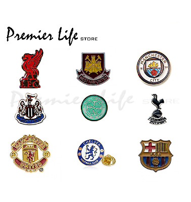 Official Football Team Stud Pin Badge - Latest Design for 2014