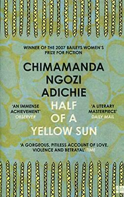 Half of a Yellow Sun by Ngozi Adichie, Chimamanda Paperback Book The Cheap Fast