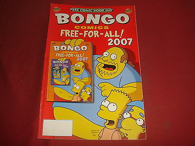BONGO COMICS FCBD 2007 - Simpsons Comics - NM