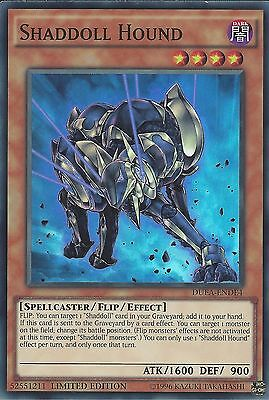 YU-GI-OH: SUPER RARE - SHADDOLL HOUND DUEA-ENDE4 LIM ED NEW CHALLENGERS PREVIEW