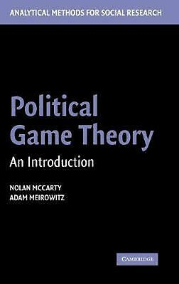 Game theory and business applications english hardcover book free political game theory an introduction by nolan mccarty english hardcover book fandeluxe Image collections