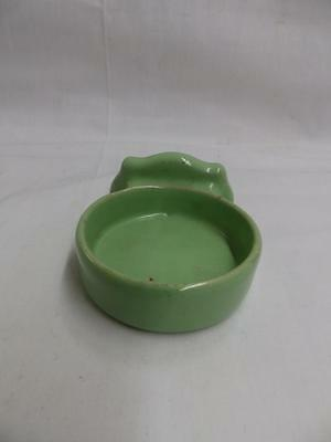 Vintage Ceramic Jadeite Green Cup Holder Bathroom Antique Porcelain Old 3717-14