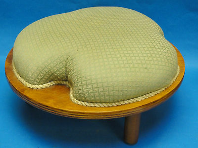 Super Cool Mid Century Modern 50's Sculptural Foot Stool