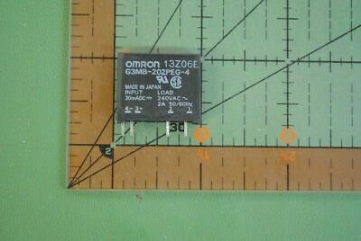 OMRON Solid State Relay G3MB-202PEG-4-DC20MA  Input 20mADC 240VAC 2A PCB SIP 100