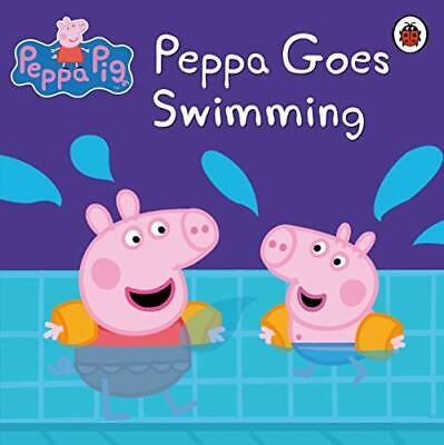 Peppa Pig: Peppa Goes Swimming, Ladybird Paperback Book The Cheap Fast Free Post