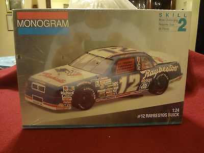 Monogram #2431 Buick Regal 1/24th Race Car Kit: Bobby Allison/Hut Stricklin