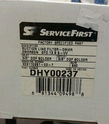 ServiceFirst Suction Line Filter/Drier DHY00237