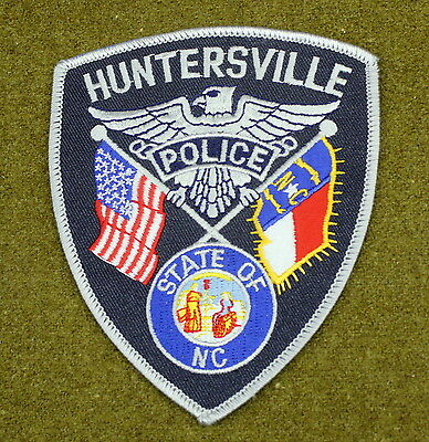 29319) Patch Huntersville North Carolina Police Department Insignia Sheriff