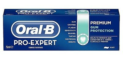 Oral-B Pro-Expert PREMIUM GUM PROTECTION Improve Enamel Whitening Toothpaste
