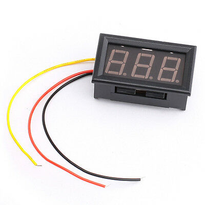 Mini Digital DC 0-100V 0.56inch Green LED display Voltage Meter Panel
