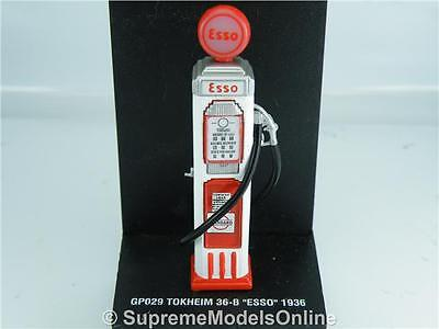 Esso Petrol Gas Pump Tokheim 36-B 1936 1/43Rd Scale Red/white Example T3412Z(=)