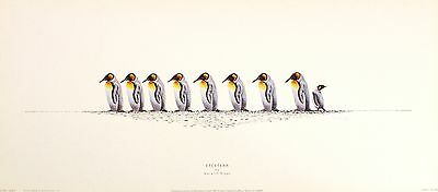 "WARWICK HIGGS ""Etcetera"" king penguins BROWSE OUR SHOP! SIZE:16cm x 51cm  RARE"
