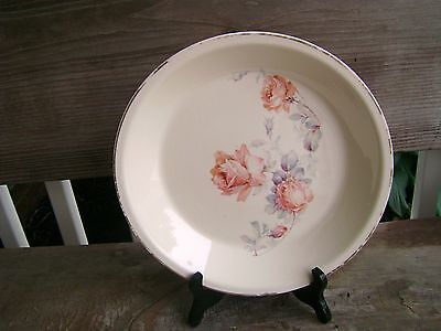 UNIVERSAL CAMBRIDGE OVENPROOF PIE PLATE ROSE FLORAL DESIGN