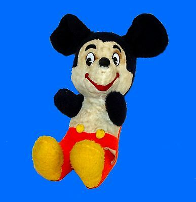 "MICKEY MOUSE 17"" PLUSH * VINTAGE WALT DISNEY CHARACTER DOLL"