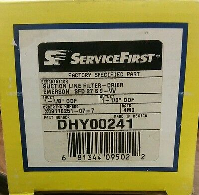 ServiceFirst Suction Line Filter/Drier DHY00241