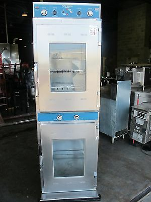 """ALTO-SHAAM 1000-TH-I DELUXE 23"""" DOUBLE STACK MANUAL HALO HEAT COOK & HOLD OVEN"""