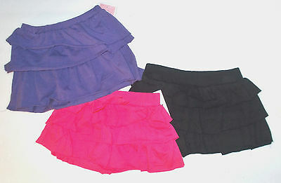 Circo Infant Toddler Girls Tiered Ruffle Skorts/Skirts Various Colors Sizes NWT