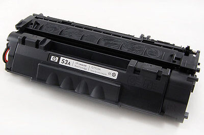 NEW Genuine HP Laserjet P2015 M2727nf Toner 53A Print Cartridge Q7553A