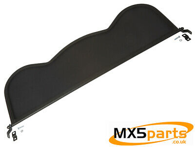 MX5 Wind Deflector Blocker Black Mesh U Shape Mazda MX-5 Mk1 Mk2 & 2.5 1989>2005