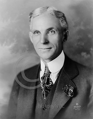1919 Historical Photo Portrait Henry Ford