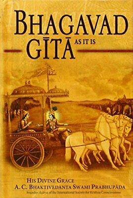 Bhagavad Gita- As it is by A.C. Bhaktivedanta swami Book The Cheap Fast Free