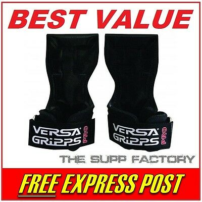 Versa Gripps PRO GENUINE | REGULAR LARGE | Grips Gloves Wraps Lifting Straps