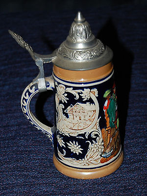 Small Lidded Beer Stein