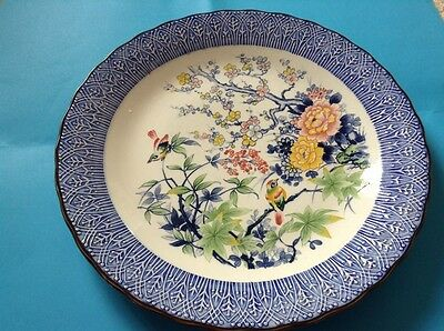 Large Charger Plate Japanese NT Measures, 13 Inches Diameter