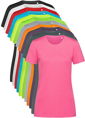 FB Running Ladies Tee When Life Gets Complicated R Neck Dry Fit Sports T-Shirt
