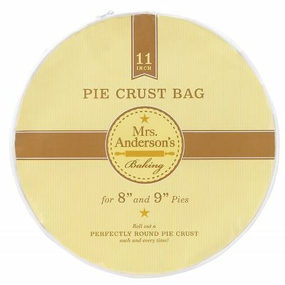 HIC Mrs. Andersons Baking Plastic Pie Crust Bag, 11 inches - 7406