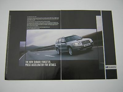 Subaru Forester Advert from 2005 - Original