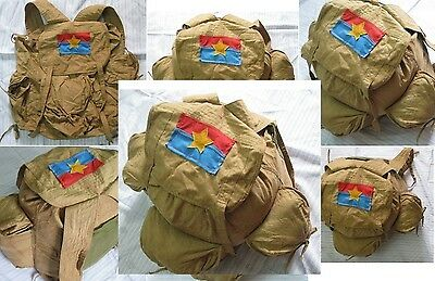 VIET CONG'S RUCKSACK  _VC NATIONAL LIBERATION FRONT Combat Rucksack( Backpack )