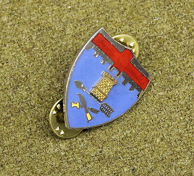 10522) US 11th Infantry Regiment DI Insignia Military Pin Crest Medal Badge