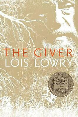 The Giver by Lois Lowry (English) Paperback Book Free Shipping!