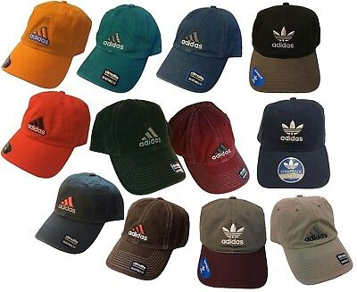 Licensed Brand Adidas Climalite Cotton Athletic Baseball Adjustable Fit Hat Cap