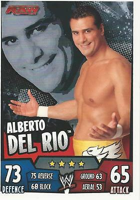 WWE Topps Slam Attax Rumble Trading Card Alberto Del Rio