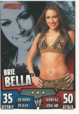 WWE Topps Slam Attax Rumble Trading Card Brie Bella