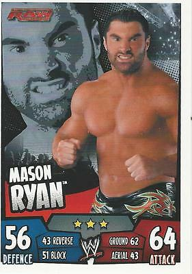 WWE Topps Slam Attax Rumble Trading Card Mason Ryan
