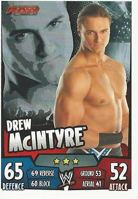 WWE Topps Slam Attax Rumble Trading Card Drew McIntyre