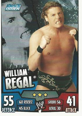 WWE Topps Slam Attax Rumble Trading Card William Regal