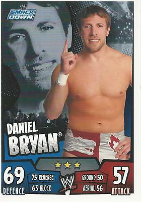 WWE Topps Slam Attax Rumble Trading Card Daniel Bryan