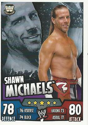 WWE Topps Slam Attax Rumble Trading Card Shawn Michaels