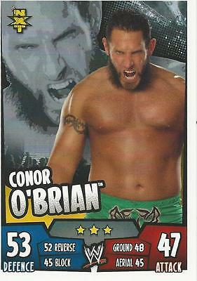 WWE Topps Slam Attax Rumble Trading Card Conor O'Brian NXT (Ascension)