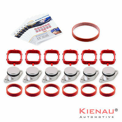 6 x 22 mm BMW SWIRL FLAP REPLACEMENT REMOVAL BLANKS  MANIFOLD VITON GASKETS