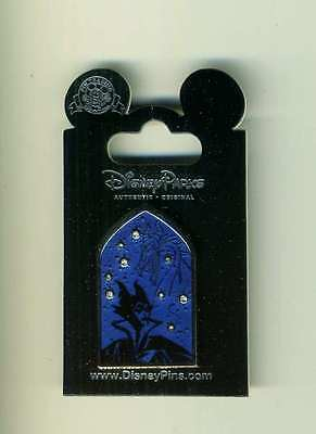 Disney Villain Constellation Jeweled Series Maleficent & Dragon Pin New Release
